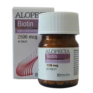 Alopecia Super Potency Biotin 2500 Mcg 60 Tablet - Saç Bakım Tableti