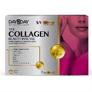 Day2Day The Collagen Beauty Intense Çilek Aromalı 7 Saşe