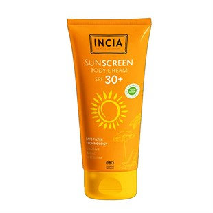 Incia Sunscreen Body Cream SPF30 100 ml