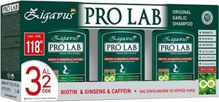Zigavus Pro Lab Garlic Şampuan 300 ml | 3 Al 2 Öde